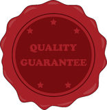 Quality guarantee Stock Image