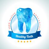 Quality and guarantee label for dentistry. Stock Photography
