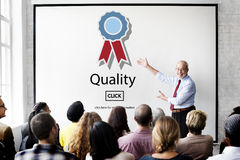 Quality Guarantee Level Service Best Class Value Concept Royalty Free Stock Images