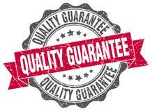 Quality guarantee seal Royalty Free Stock Image