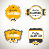 Quality guarantee seals and badges Stock Photo