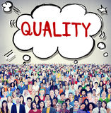 Quality Guarantee Value Grade Satisfaction Concept Royalty Free Stock Photos