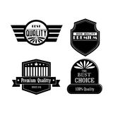 Quality icons. Over white background vector illustration Stock Image