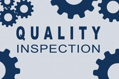 Quality Inspection concept Stock Image