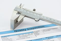 Quality Inspection stock image