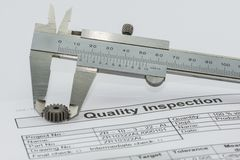 Quality Inspection royalty free stock photos