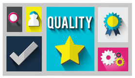 Quality Level Condition Grade Satisfaction Status Concept Stock Image