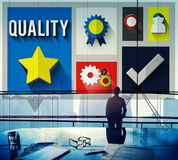 Quality Level Condition Grade Satisfaction Status Concept Royalty Free Stock Image