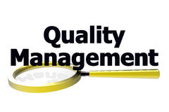 Quality management concept Royalty Free Stock Photos