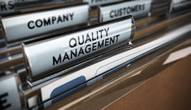 Quality Management System Royalty Free Stock Image