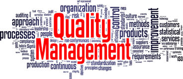 Free Quality Management Tag Cloud Stock Photo - 42313770