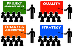 Quality management Stock Photography