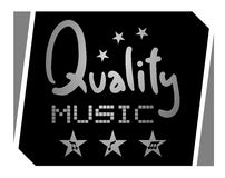 Quality music Stock Image