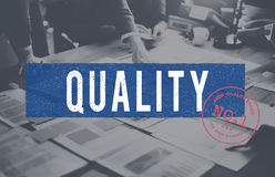 Quality Premium Approved Stamp Concept Stock Image