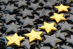 Quality rating, performance review, ranking, evaluation and classification concept Stock Image