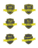 Quality ribbons Royalty Free Stock Photos