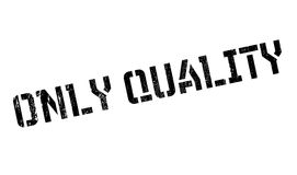 Only Quality rubber stamp Royalty Free Stock Photo