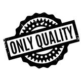 Only Quality rubber stamp Royalty Free Stock Photography