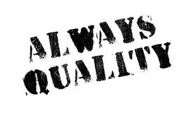 Always Quality rubber stamp Royalty Free Stock Photography