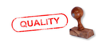 QUALITY Rubber Stamp Royalty Free Stock Images