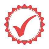 Quality seal guaranteed icon Royalty Free Stock Photo