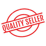 Quality Seller rubber stamp Royalty Free Stock Photos