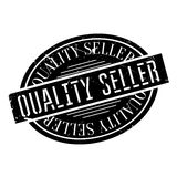 Quality Seller rubber stamp Royalty Free Stock Images