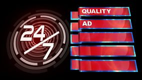 Quality Service stock video footage