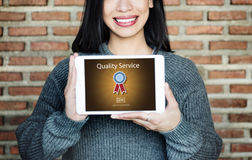 Quality Service Assistance Care Customer Concept Royalty Free Stock Images