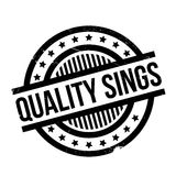 Quality Sings rubber stamp Royalty Free Stock Photos