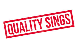 Quality Sings rubber stamp Royalty Free Stock Images