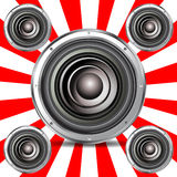 Quality speaker Royalty Free Stock Photography