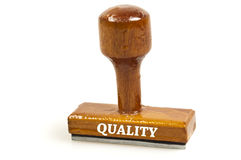 Quality stamp Royalty Free Stock Photo