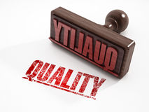Quality stamp Royalty Free Stock Image