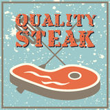 Quality steak Stock Image