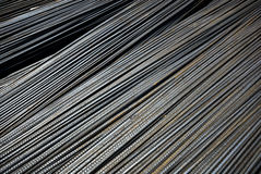 Quality steel. The high quality steel in construction site Stock Photography
