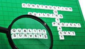 Quality surveying Stock Image