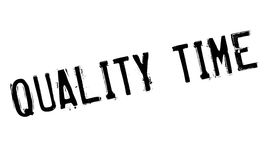 Quality Time rubber stamp Royalty Free Stock Photography