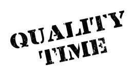 Quality Time rubber stamp Royalty Free Stock Photo