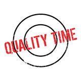 Quality Time rubber stamp Royalty Free Stock Image