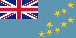 Flag of Tuvalu Vector illustration vector illustration