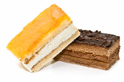 Quality variety of cakes Royalty Free Stock Photos