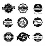 Quality vintage labels Royalty Free Stock Image