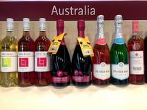 Quality Wines Royalty Free Stock Photography