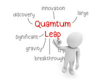 Quamtum leap Royalty Free Stock Photography