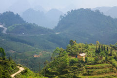 Quan Ba Heaven Gate, Ha Giang, Vietnam. Quan Ba is a rural district of Ha Giang province in the Northeast region of Vietnam. Ha Giang is the place where almost Royalty Free Stock Images