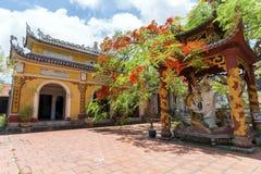 Quan Lan Pagoda. Sunny day at Quan Lan Pagoda, Quang Ninh Province, Vietnam Stock Images