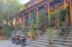 Quan Su Temple Hanoi Vietnam. Quan Su Temple in Hanoi Vietnam. Quan Su Temple was built in the 15th century under the Le Dynasty Stock Photo