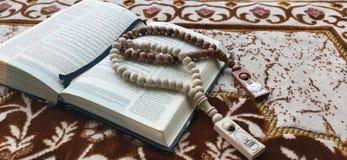 quan and tasbih for.ramadhan kareem