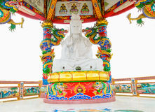 Quan Yin. In the Chinese shrine Stock Photos